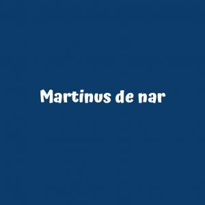 Martinus de nar